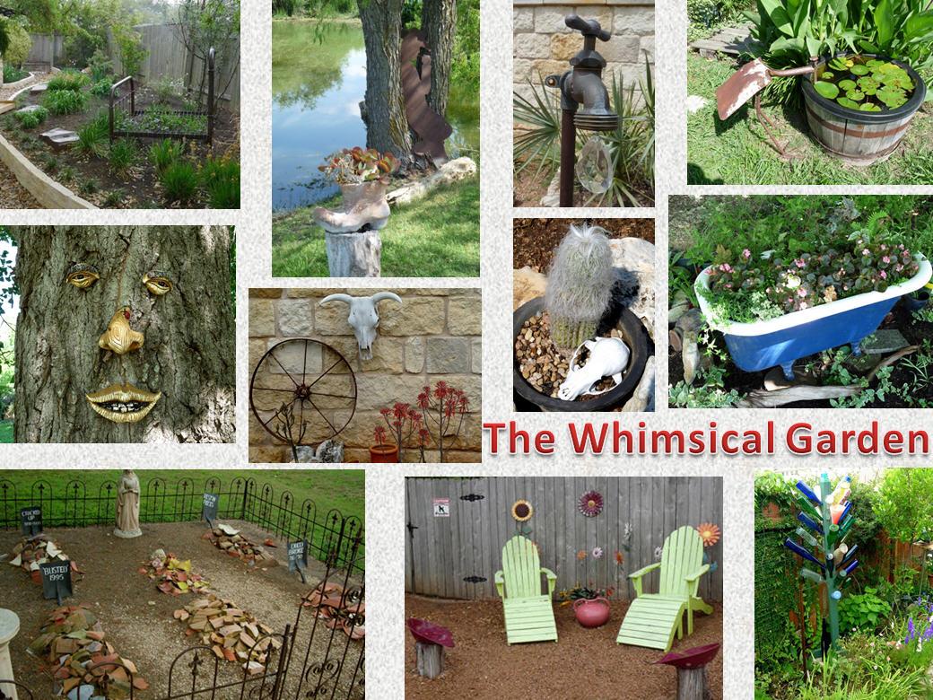 Add Fun To Your Garden Aka Whimsy Central Texas