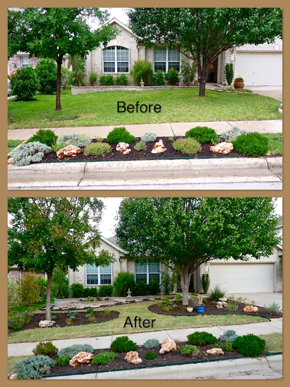 Front Yard Xeriscape Ideas Part - 15: NEW XERISCAPED FRONT YARD